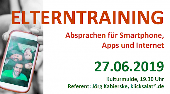 Elterntraining: Smartphone & Co.